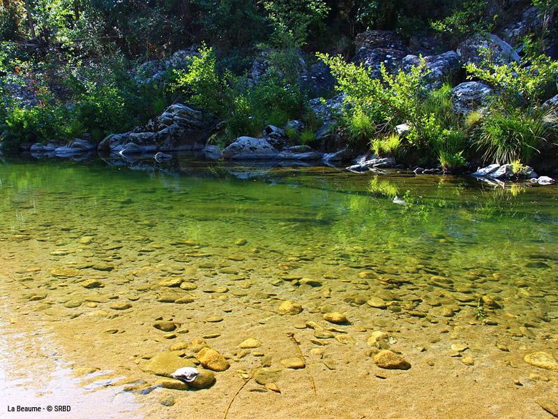 Rivière La Beaume