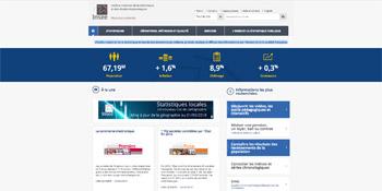 Lien vers le site de l'INSEE