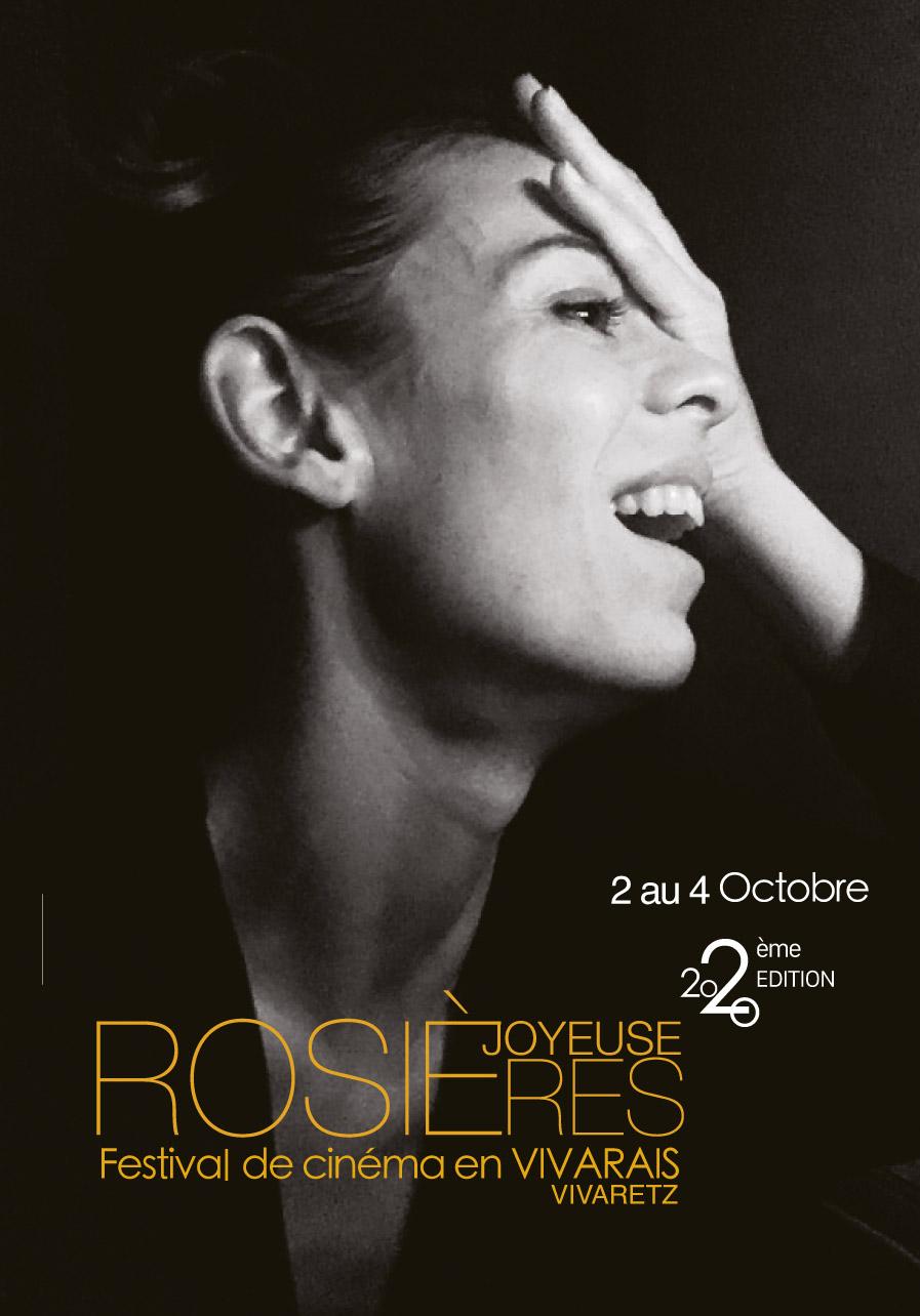 """Affiche du festival """"Cinéma en Vivarais"""" à Rosière, Joyeuse et Labeaume"""